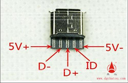 usba型插座接线图如下