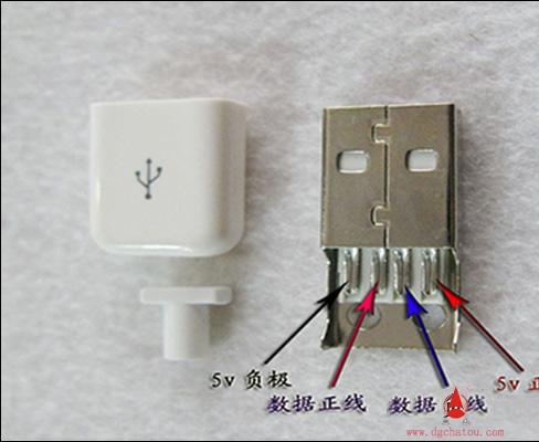 usb插座接线图